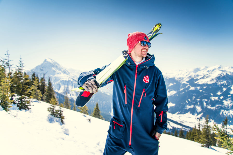 Why One Piece Ski Suits are back in Style.