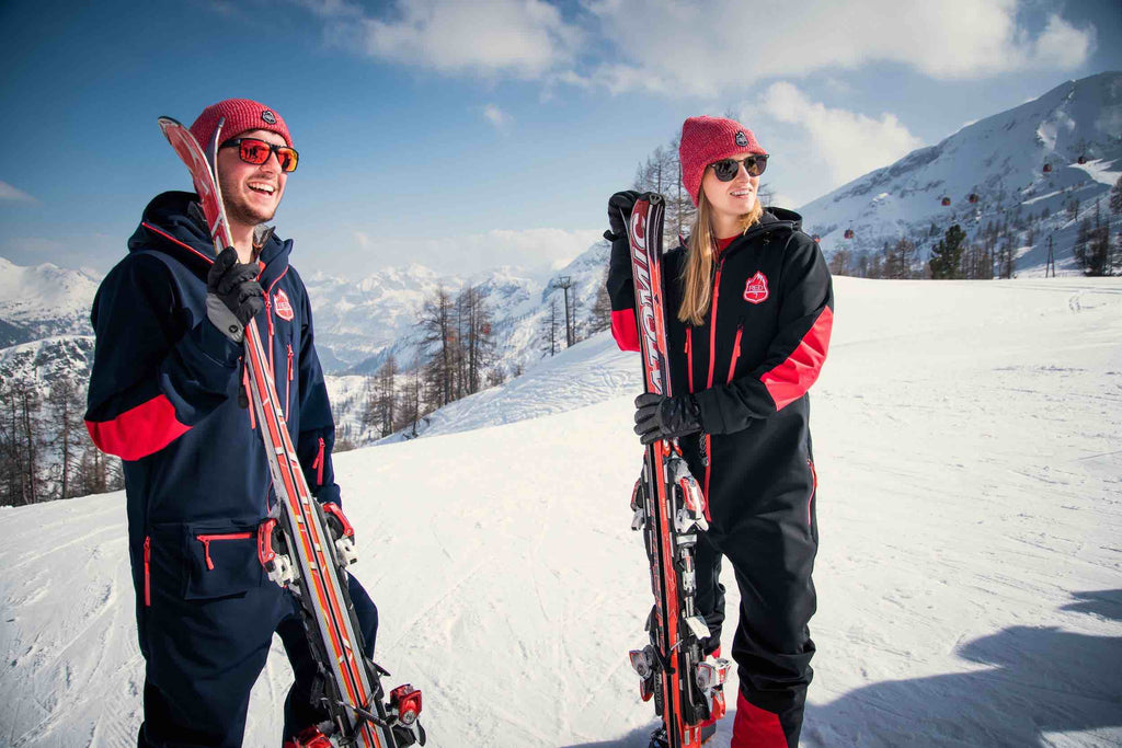 Are One Piece Ski Suits in Fashion? YES! - Red7SkiWear