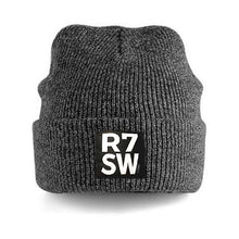 RED7 HEATHER BEANIE - CHARCOAL