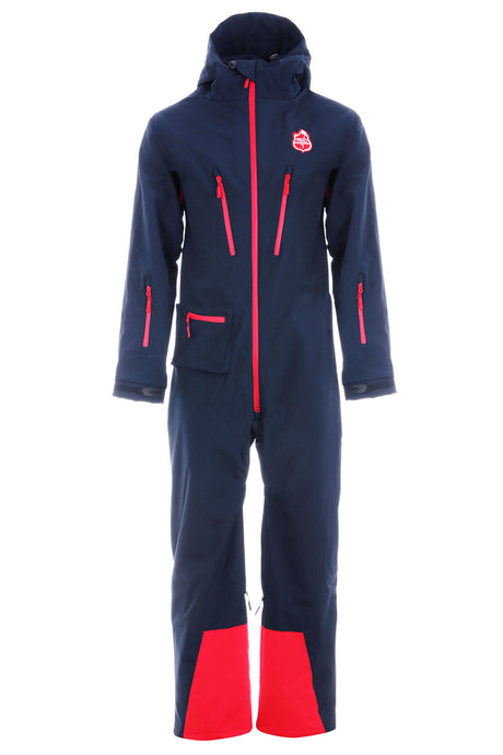 Navy all in one ski suit | Red7 Ski Wear
