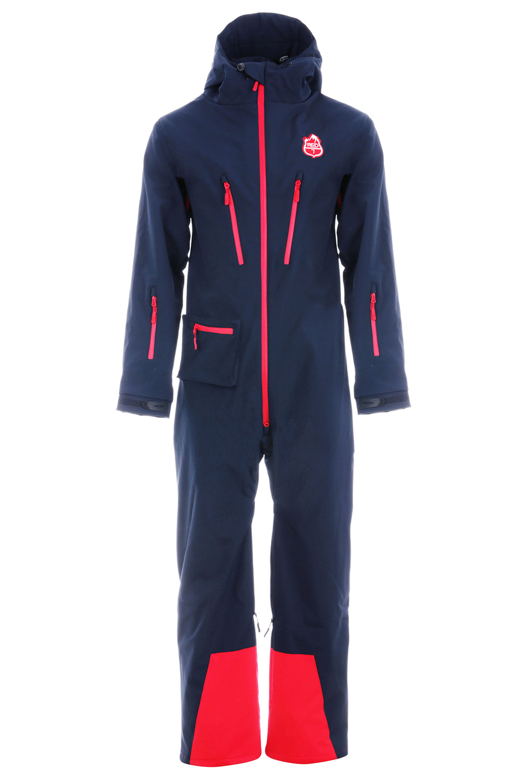 Red7 All In One Ski Suit NAVY