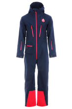 All in one ski suit in navy blue from Red7SkiWear