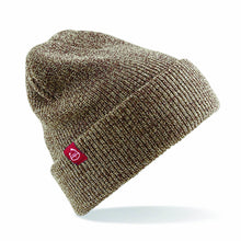 RED7 HEATHER BEANIE - OATMEAL