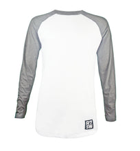 LONG SLEEVE TSHIRT - R7SW SUSTAINABLE CLOTHING WHITE/GREY
