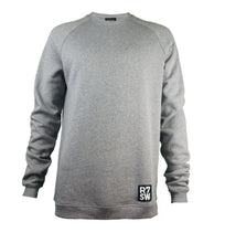 R7SW GREY COTTON SWEATSHIRT - ETHICALLY PRODUCES WITH ORGANIC COTTON