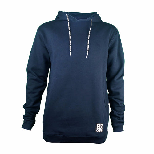 Navy Blue R7SW Eco Friendly Organic Cotton Hoody - Red7 Sustainable Clothing