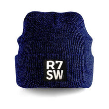 RED7 HEATHER BEANIE - ROYAL BLUE