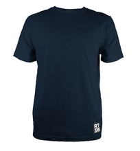 NAVY BLUE TSHIRT - SOFT ORGANIC COTTON