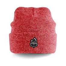 RED7 HEATHER BEANIE - RED