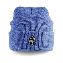 RED7 HEATHER BEANIE - BLUE
