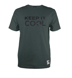DARK GREY R7SW 'KEEP IT COOL' SUSTAINABLE T-SHIRT
