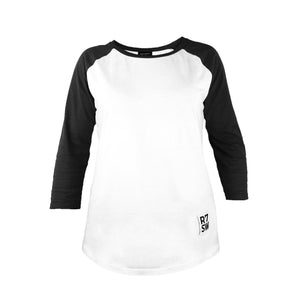 Ladies Long Sleeve Base Ball T shirt