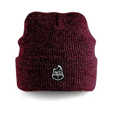 RED7 HEATHER BEANIE - BURGUNDY