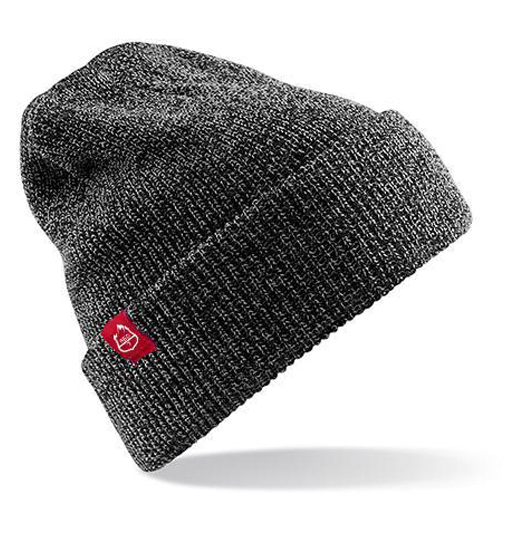 RED7 CHARCOAL HEATHER BEANIE HAT