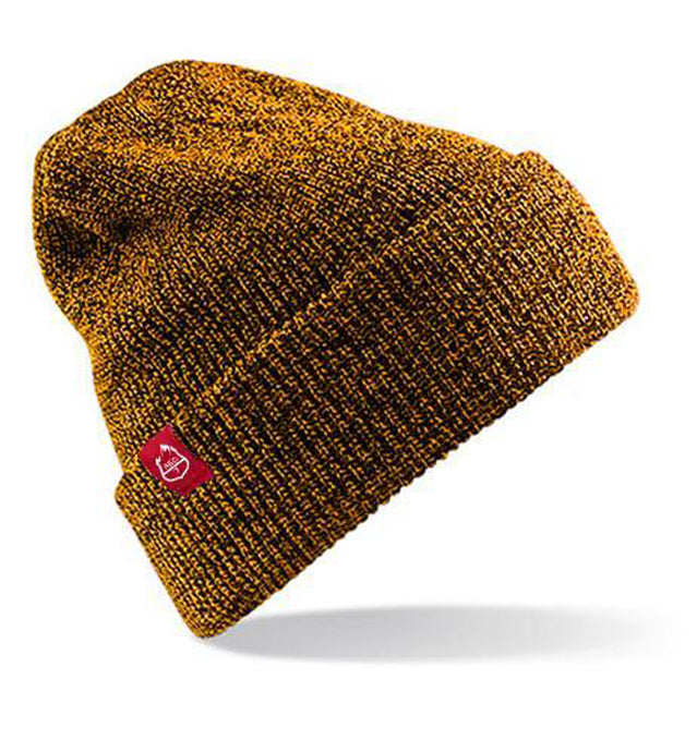WARM BEANIE HAT - MUSTARD YELLOW FROM RED7SKIWEAR