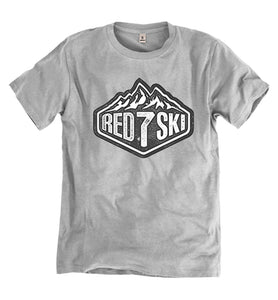 """RED7SKI"" ORGANIC COTTON T-SHIRT"