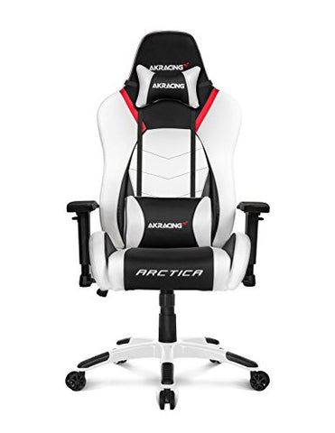 AKRacing Arctica Ultra-Premium White Concept Gaming Chair W/ Warranty