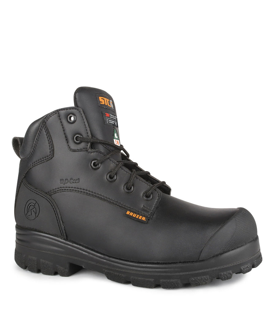 "Trump, Black | Chemtech microfiber 6"" work boots 