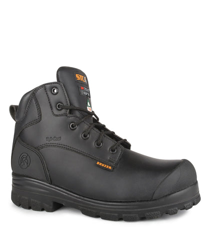 "Buster, Black | 8"" Work boots with External metatarsal protection"