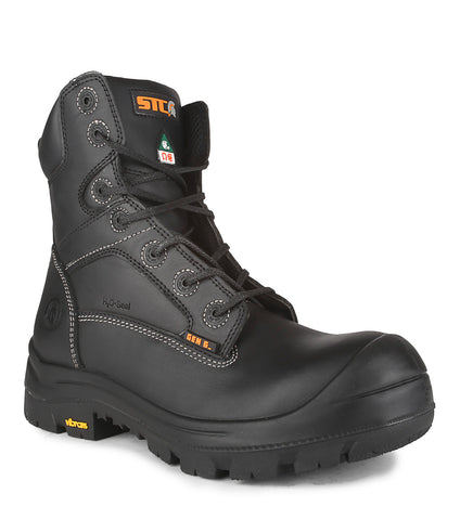"Rebel, Black | Waterproof 8"" Work Boots 