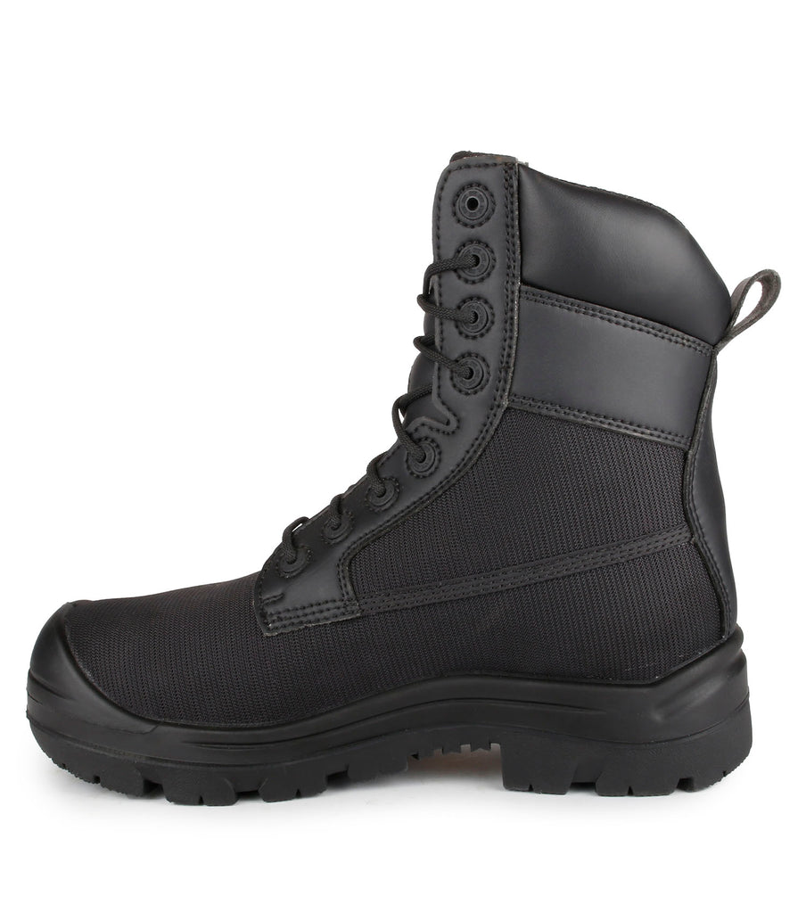 "Shire, Black | Ballistic Nylon Metal Free 8"" Work Boots 