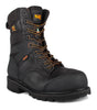 "Barrier, Black | 8"" Work Boots metal free - STC Footwear"