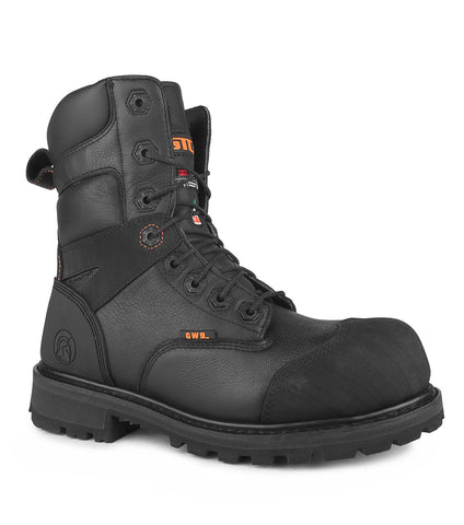 "Blitz-Ice, Black | 8"" Winter tactical boots 