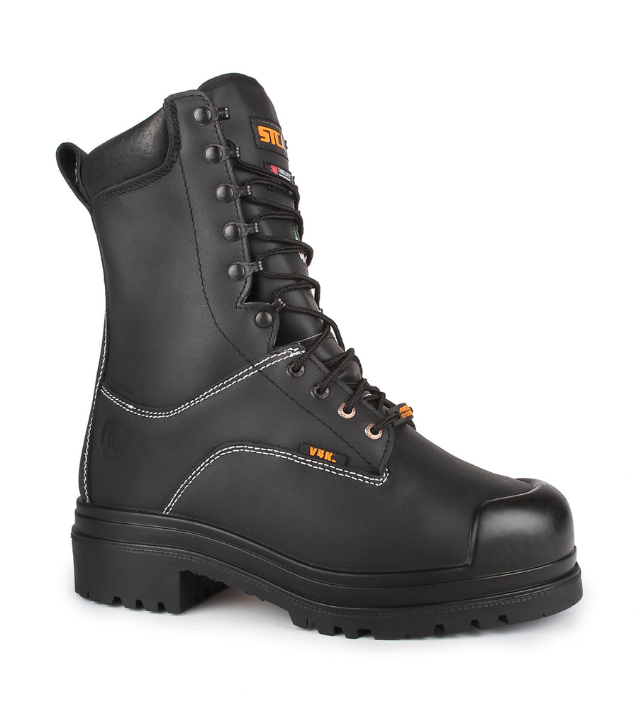 "Hardrock, Black | 10"" Mining boots 