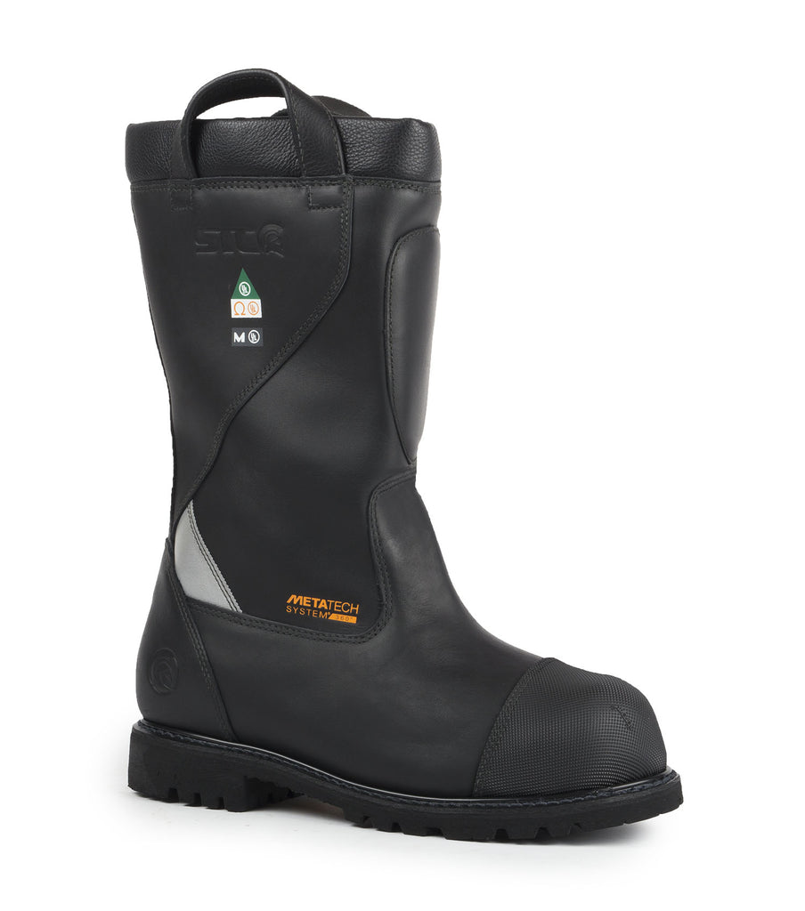 Marshall | NFPA Structural firefighter boots + Metatarsal protection