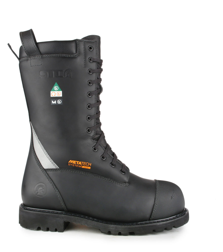 Commander | NFPA Structural firefighter boots + Metatarsal protection