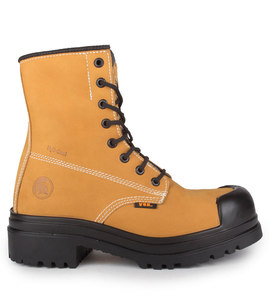 "Dawson, Tan | Waterproof Nubuck 8"" Work Boots 