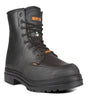 Cylinder, Black | 8'' Work Boots with metatarsal protection | Vibram