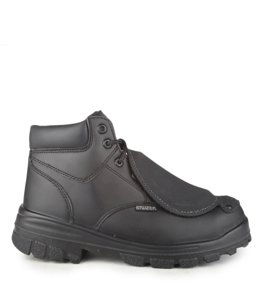 "Press, Black | 6"" work boots with external metatarsal protection"