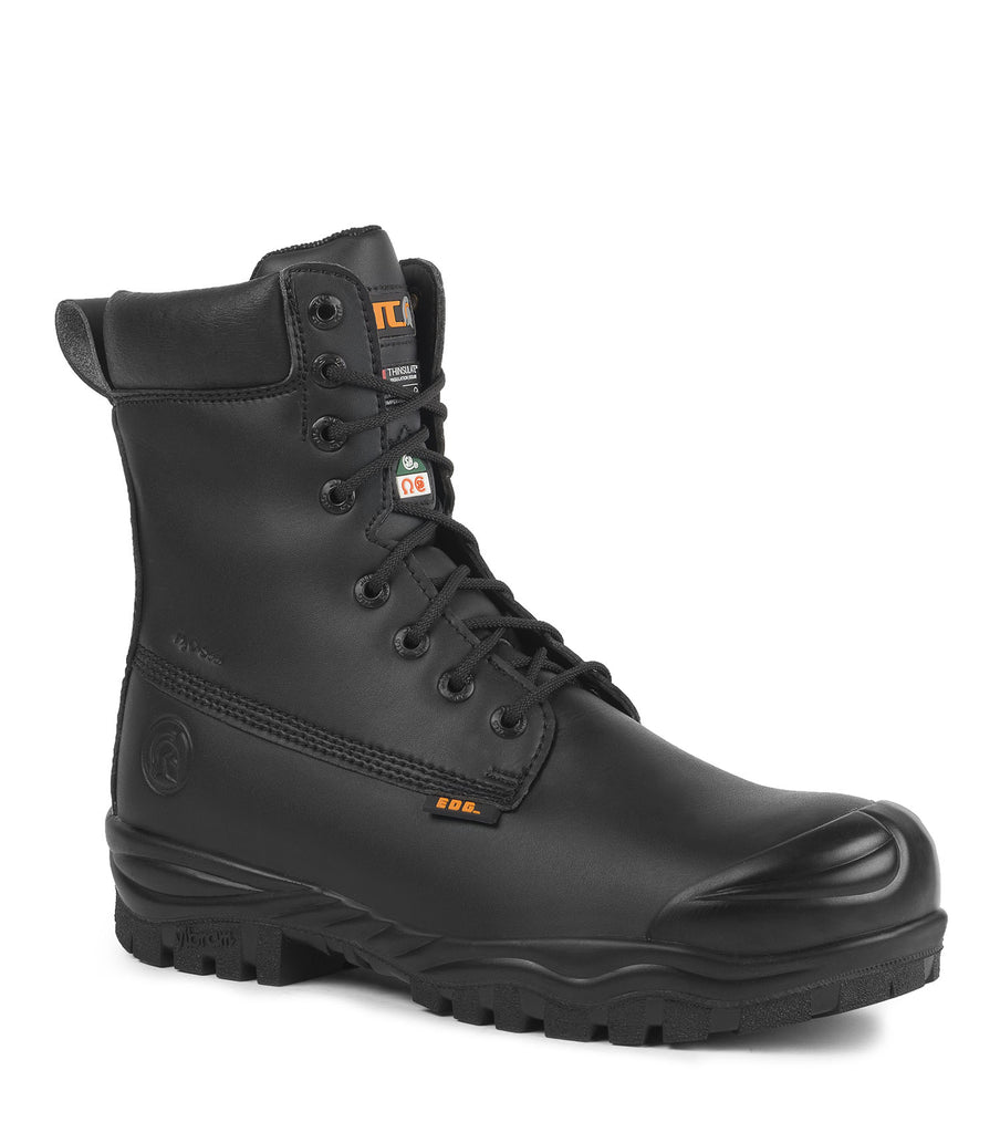 "Maska, Black | 8"" Insulated Safety Work Boots 