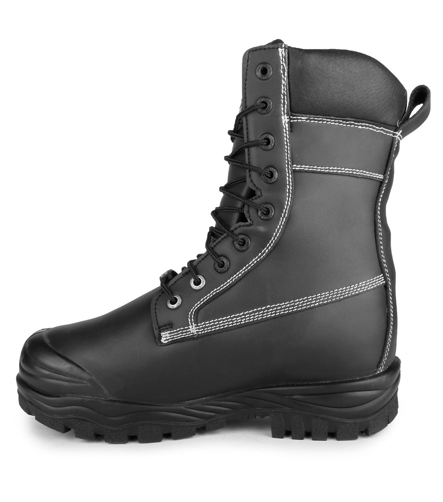 "Kimberlite, Black | 9"" Mining Safety Work Boots 