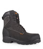 "Master, Black | Waterproof nubuck leather 8"" work boots - STC Footwear"