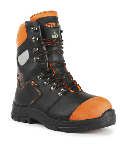"Bosky | 13"" Lumberjack insulated safety work boots 