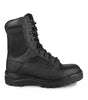 "911, Black | 8"" Tactical boots with side zip closure 
