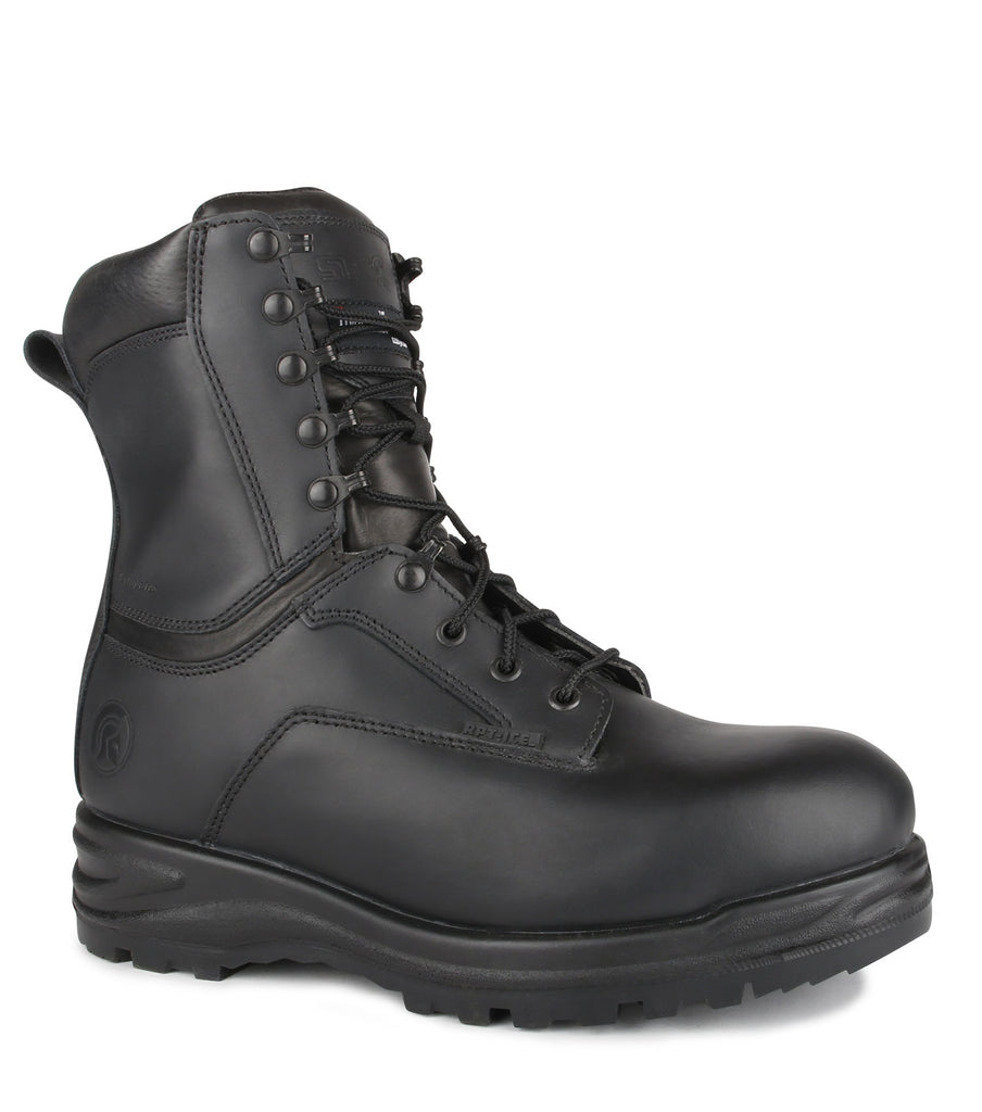"ER, Black | 600g Insulated 8"" Winter Tactical Boots 