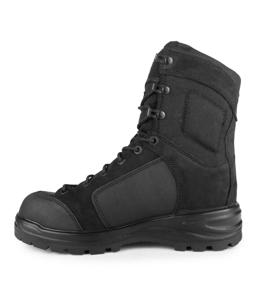 "Malden, Black | 8"" Nubuck & 1000D Nylon Tactical Boots 