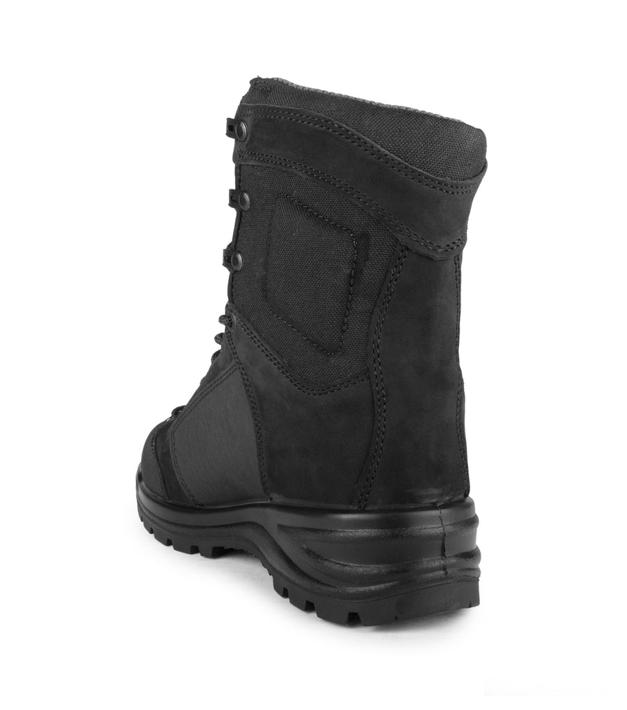 "Malden, Black | 8"" Work Boots nubuck + nylon, with sealed seams"