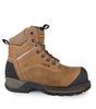 Outlaw,Brown | Waterproof & Breathable 6'' Leather Work Boots | 200g - STC Footwear