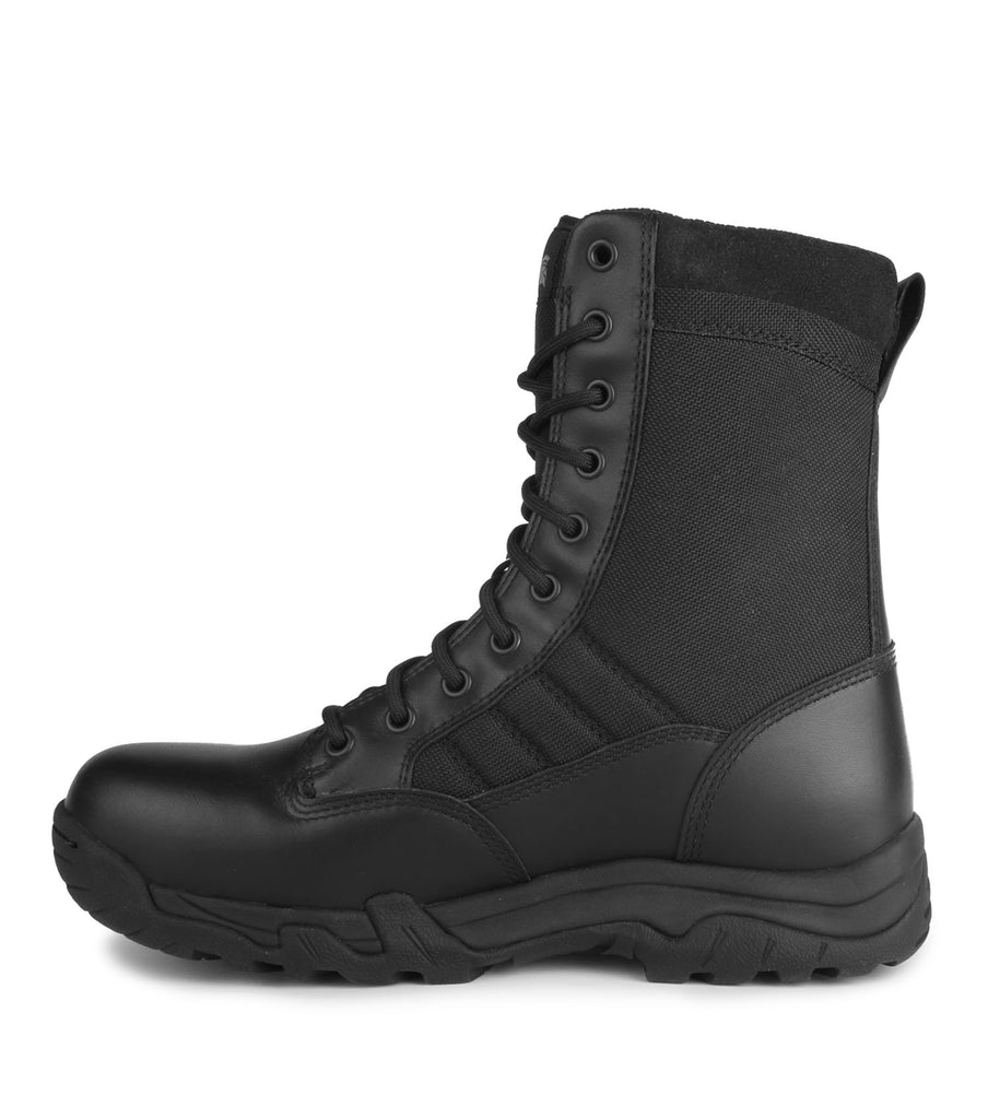 "10-4, Black | 8"" Lightweight leather & 1000D nylon tactical boots"