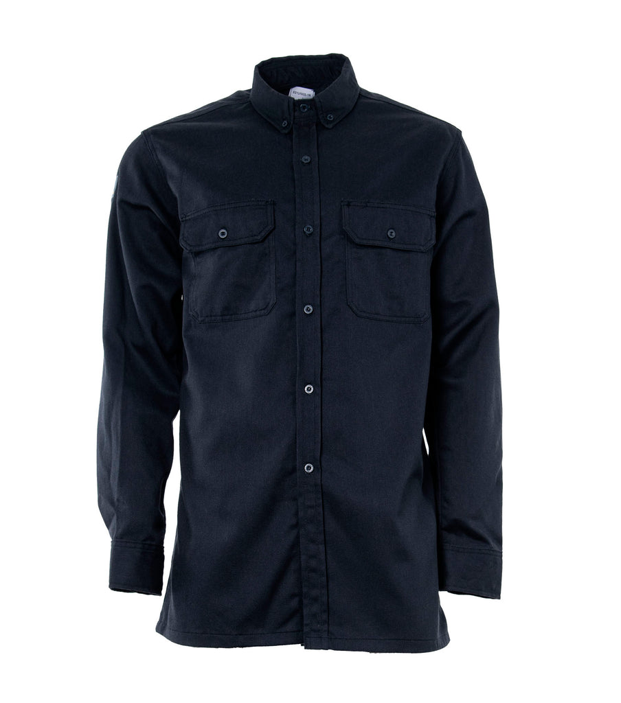 Basic, Navy | Long Sleeves Shirt | Electric arc protection - STC Footwear
