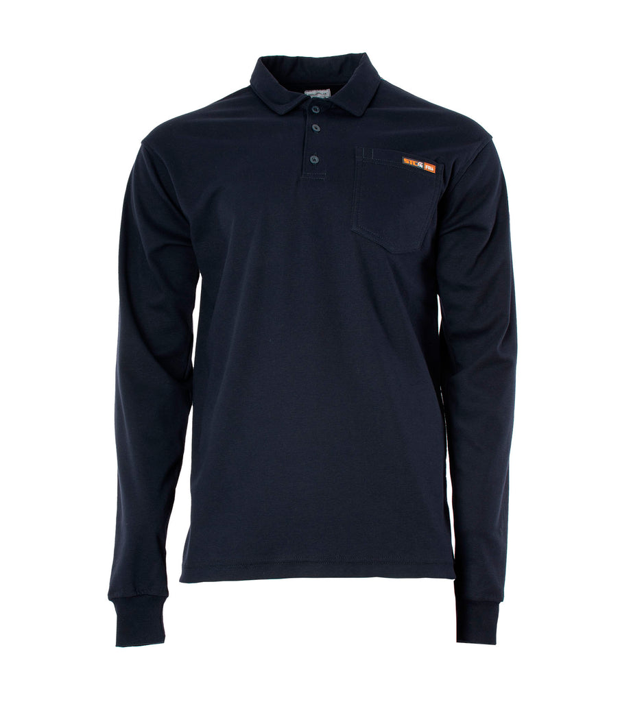Classy, Navy | Long Sleeves Polo | Electric Arc Protection