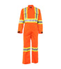 Smart, Orange | Electric Arc Resistance Hight-visibility Coverall