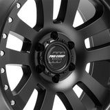 Pro Comp Prodigy Series 46, 17x9 with 5x5 Bolt Pattern - Satin Black