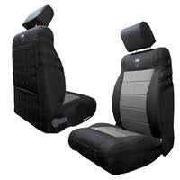 BARTACT Front Seat Cover 2013-2018 Black/Graphite for JK/JKU