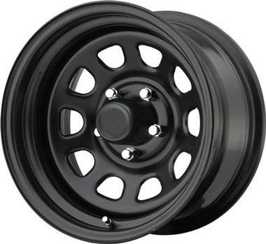 Trail Master Wheels TM5, 15x10 with 5 on 4.5 Bolt Pattern - Gloss Black