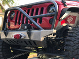 "MOTOBILT JEEP JK ""CRUSHER"" BUMPER WITH GRILL HOOP AND STINGER"